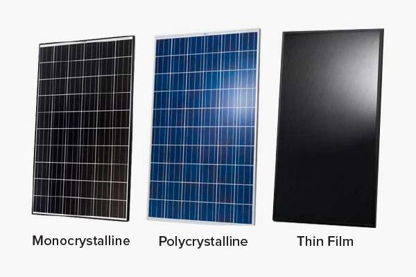 Vrste solarnih panelov (solarni moduli) in njihove značilnosti